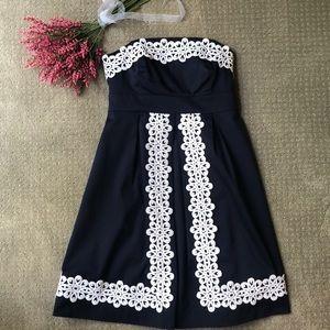 Lily Pulitzer Strapless Dress - size 0